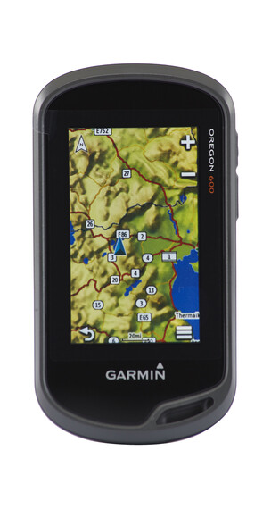 Garmin Oregon 600 GPS + global baskarta svart
